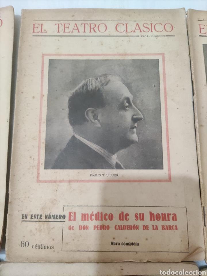 Libros antiguos: El Teatro Clásico......8 ejemplares. - Foto 5 - 262440370