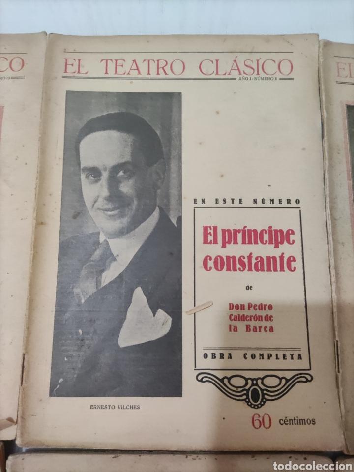 Libros antiguos: El Teatro Clásico......8 ejemplares. - Foto 7 - 262440370