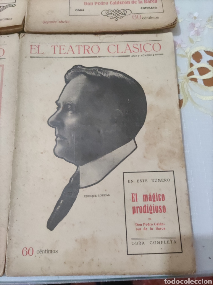 Libros antiguos: El Teatro Clásico......8 ejemplares. - Foto 8 - 262440370