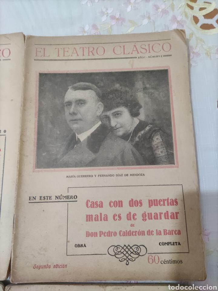 Libros antiguos: El Teatro Clásico......8 ejemplares. - Foto 9 - 262440370