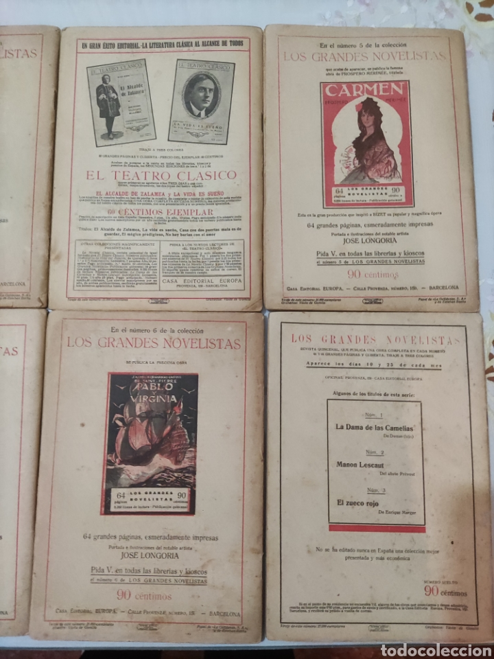 Libros antiguos: El Teatro Clásico......8 ejemplares. - Foto 12 - 262440370