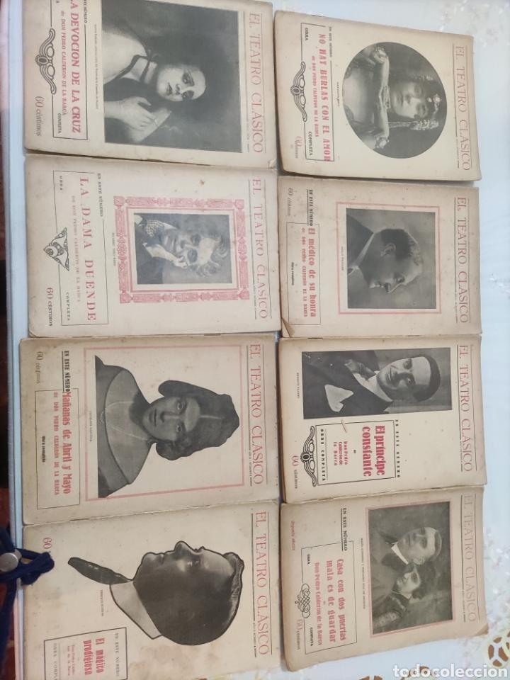 EL TEATRO CLÁSICO......8 EJEMPLARES. (Libros antiguos (hasta 1936), raros y curiosos - Literatura - Teatro)