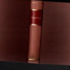 Libros antiguos: TEATRE. TOMO ENCUADERNADO CON 5 OBRAS. VER DESCRIPCION... JESUS DE NAZARETH....... 1909. Lote 262624245