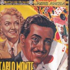 Libros antiguos: CARLO MONTE, MONTE CARLO - JARDIEL PONCELA - TEATRO SELECTO 3 1940. Lote 262883230