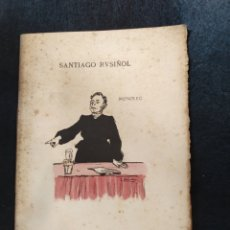 Libros antiguos: FEMINISTA. MONOLEG. SANTIAGO RUSIÑOL. ESTRENO TEATRE CATALÀ 1903. Lote 266922384