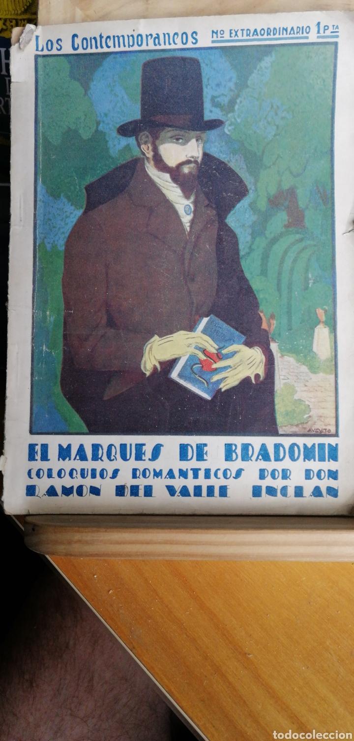 EL MARQUÉS DE BRADOMÍN: COLOQUIOS ROMÁNTICOS. RAMÓN DEL VALLE INCLAN .. 2ª ED..- MADRID: LOS CONTEMP (Libros antiguos (hasta 1936), raros y curiosos - Literatura - Teatro)