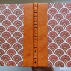 Libros antiguos: LA CONSULESA (1914) / SERAFÍN Y JOAQUÍN ÁLVAREZ QUINTERO. ¡¡ ENCUADERNACIÓN ARTESANAL !!. Lote 267828164