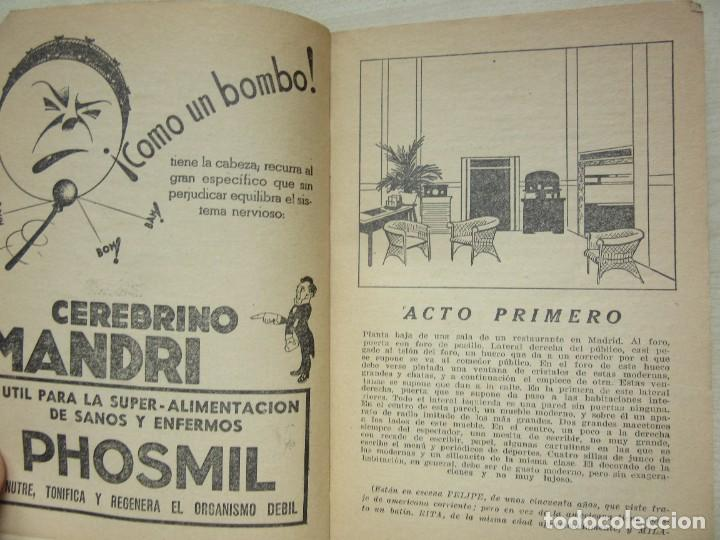 Libros antiguos: 2 obras de Antonio Paso y dos obras de José Marco Davó y José Alfayate Edit. Estampa 1935 Ver descri - Foto 3 - 269845128
