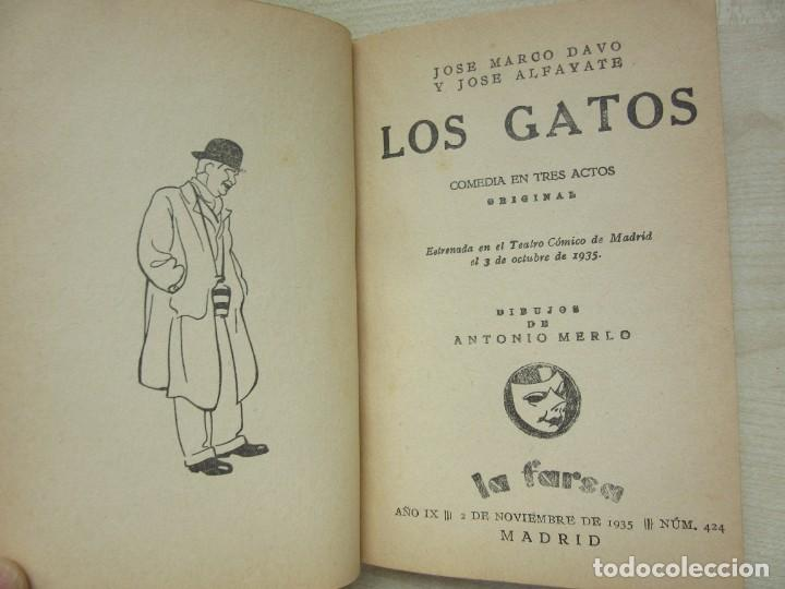 Libros antiguos: 2 obras de Antonio Paso y dos obras de José Marco Davó y José Alfayate Edit. Estampa 1935 Ver descri - Foto 5 - 269845128