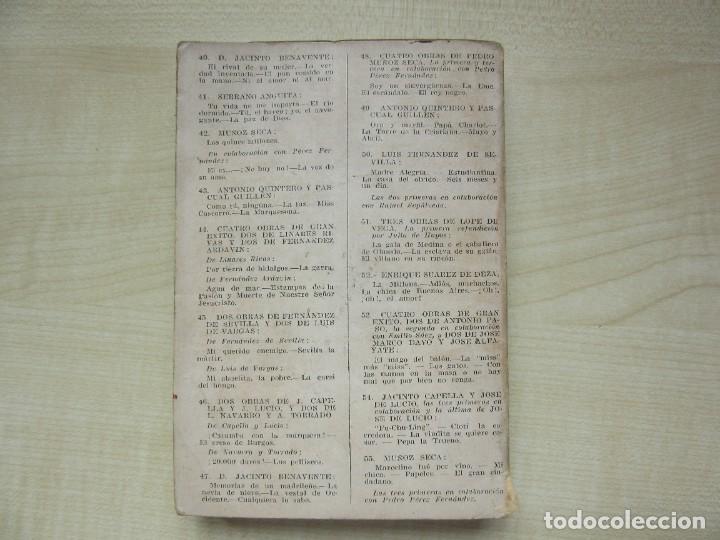 Libros antiguos: 2 obras de Antonio Paso y dos obras de José Marco Davó y José Alfayate Edit. Estampa 1935 Ver descri - Foto 6 - 269845128