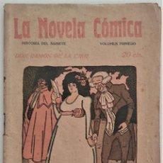 Libros antiguos: HISTORIA DEL SAINETE, VOLUMEN PRIMERO - LA NOVELA CÓMICA Nº 16 AÑO 1917 - DON RAMÓN DE LA CRUZ. Lote 270362643