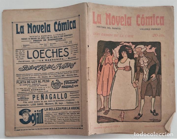 Libros antiguos: HISTORIA DEL SAINETE, VOLUMEN PRIMERO - LA NOVELA CÓMICA Nº 16 AÑO 1917 - DON RAMÓN DE LA CRUZ - Foto 2 - 270362643