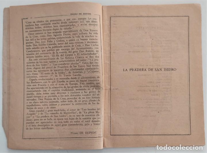 Libros antiguos: HISTORIA DEL SAINETE, VOLUMEN PRIMERO - LA NOVELA CÓMICA Nº 16 AÑO 1917 - DON RAMÓN DE LA CRUZ - Foto 5 - 270362643