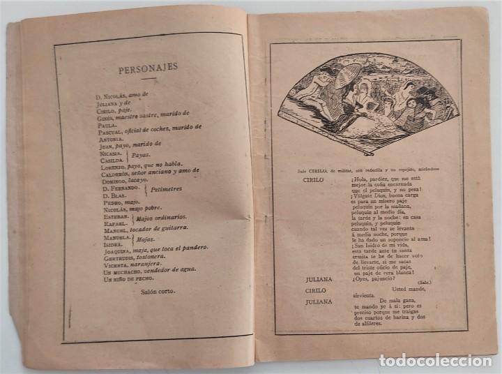 Libros antiguos: HISTORIA DEL SAINETE, VOLUMEN PRIMERO - LA NOVELA CÓMICA Nº 16 AÑO 1917 - DON RAMÓN DE LA CRUZ - Foto 6 - 270362643