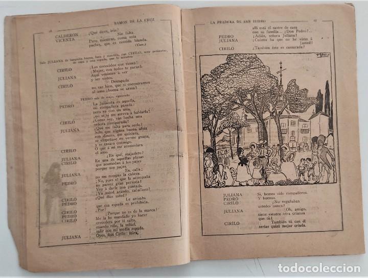 Libros antiguos: HISTORIA DEL SAINETE, VOLUMEN PRIMERO - LA NOVELA CÓMICA Nº 16 AÑO 1917 - DON RAMÓN DE LA CRUZ - Foto 7 - 270362643