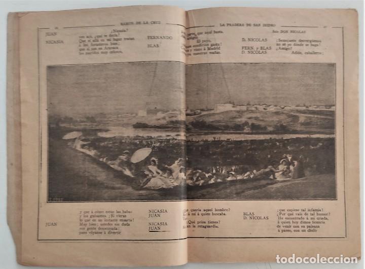 Libros antiguos: HISTORIA DEL SAINETE, VOLUMEN PRIMERO - LA NOVELA CÓMICA Nº 16 AÑO 1917 - DON RAMÓN DE LA CRUZ - Foto 8 - 270362643