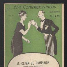 Libros antiguos: MUÑOZ SECA, P. Y PEREZ FERNANDEZ, P: EL CLIMA DE PAMPLONA. MADRID, LOS CONTEMPORÁNEOS Nº658 1921.. Lote 64093283