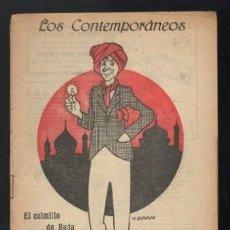 Libros antiguos: MUÑOZ SECA, PEDRO: EL COLMILLO DE BUDA. MADRID, LOS CONTEMPORÁNEOS Nº652 1921. Lote 64097135