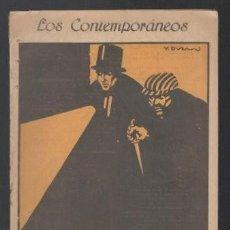 Libros antiguos: MUÑOZ SECA, PEDRO: HUGO DE MONTREUX. MADRID, LOS CONTEMPORÁNEOS Nº550 1919. Lote 64099539