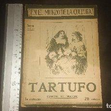 Libros antiguos: ANTIGUA REVISTA , EN EL MUNDO DE LA CULTURA , TARTUFO , LEER DESCRIPCION. Lote 270683403