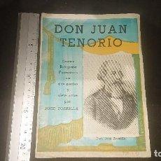 Libros antiguos: ANTIGUA REVISTA 1964 , DON JUAN TENORIO , LEER DESCRIPCION. Lote 270683898