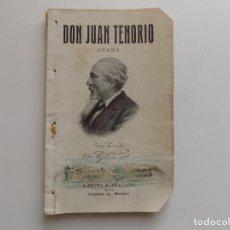 Libros antiguos: LIBRERIA GHOTICA. JOSE ZORRILLA. DON JUAN TENORIO. DRAMA. 1909.. Lote 271421473