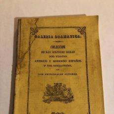Libros antiguos: SIMON BOCANEGRA. ANTONIO GARCÍA GUTIERREZ. 1843. Lote 274941353