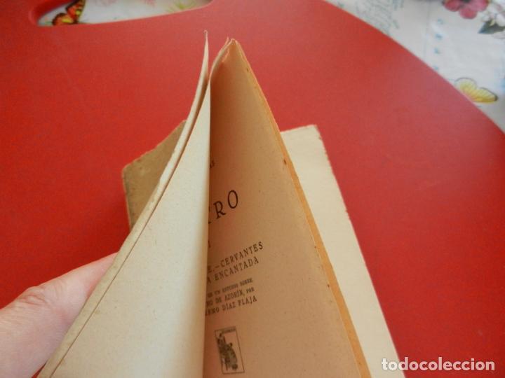 Libros antiguos: AZORÍN OBRAS COMPLETAS II-TEATRO II-LO INVISIBLE CERVANTES O LA CASA ENCANTADA- MADRID 1931-INTONSO. - Foto 2 - 276073993