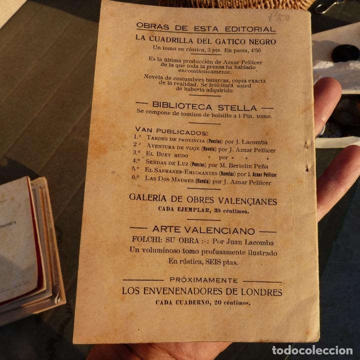 Libros antiguos: Mal instint, galeria de obres valencianes, j m mateu, valencia 1925, comedia dramatica bilingue - Foto 6 - 276960453