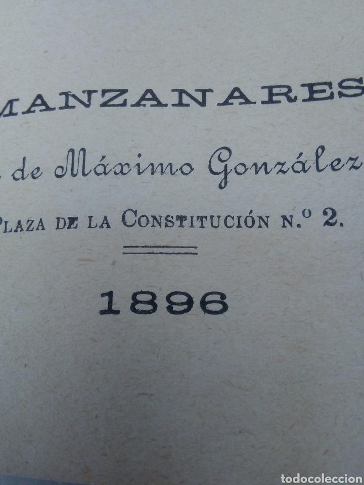 Libros antiguos: El galán de la Membrilla año 1896 - Foto 2 - 277058688