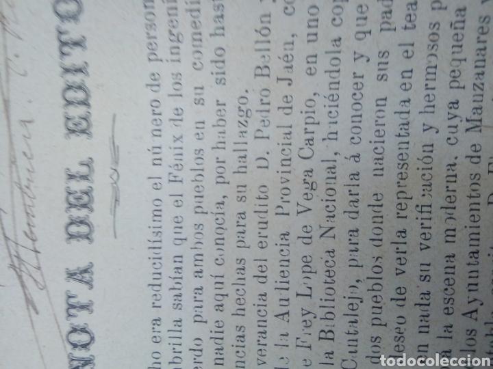 Libros antiguos: El galán de la Membrilla año 1896 - Foto 3 - 277058688