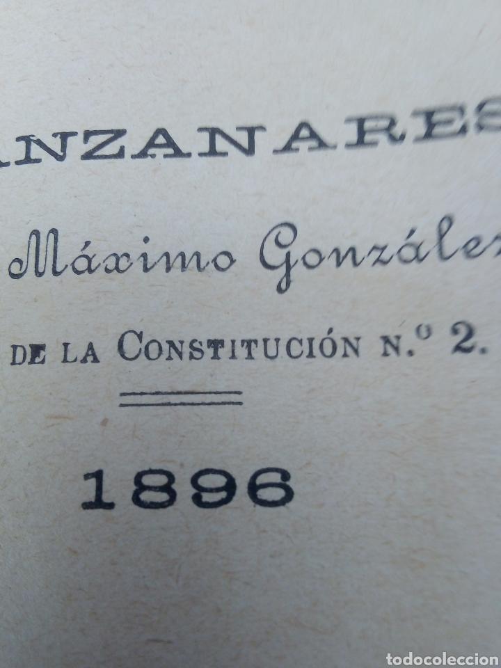 Libros antiguos: El galán de la Membrilla año 1896 - Foto 4 - 277058688
