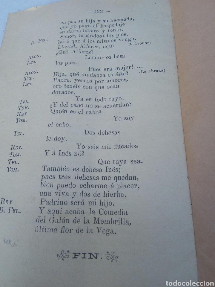 Libros antiguos: El galán de la Membrilla año 1896 - Foto 5 - 277058688