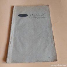 Libros antiguos: 33,333 REALES 33 CENTIMOS POR DIA.JUGETE COMICO EN TRES ACTOS. 1859. D. ISIDORO GIL. 40 PAGS.. Lote 277244823