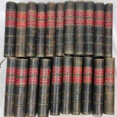 """Libros antiguos: """"TEATRO CRÍTICO UNIVERSAL. CLÁSICOS CASTELLENOS"""". EDICIONES DE LA LECTURA. MADRID. DE 1925 A 1928.. Lote 277460118"""