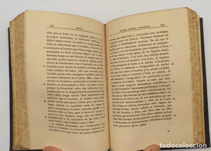 """Libros antiguos: """"Teatro crítico Universal. Clásicos castellenos"""". Ediciones de la lectura. Madrid. De 1925 a 1928. - Foto 6 - 277460118"""
