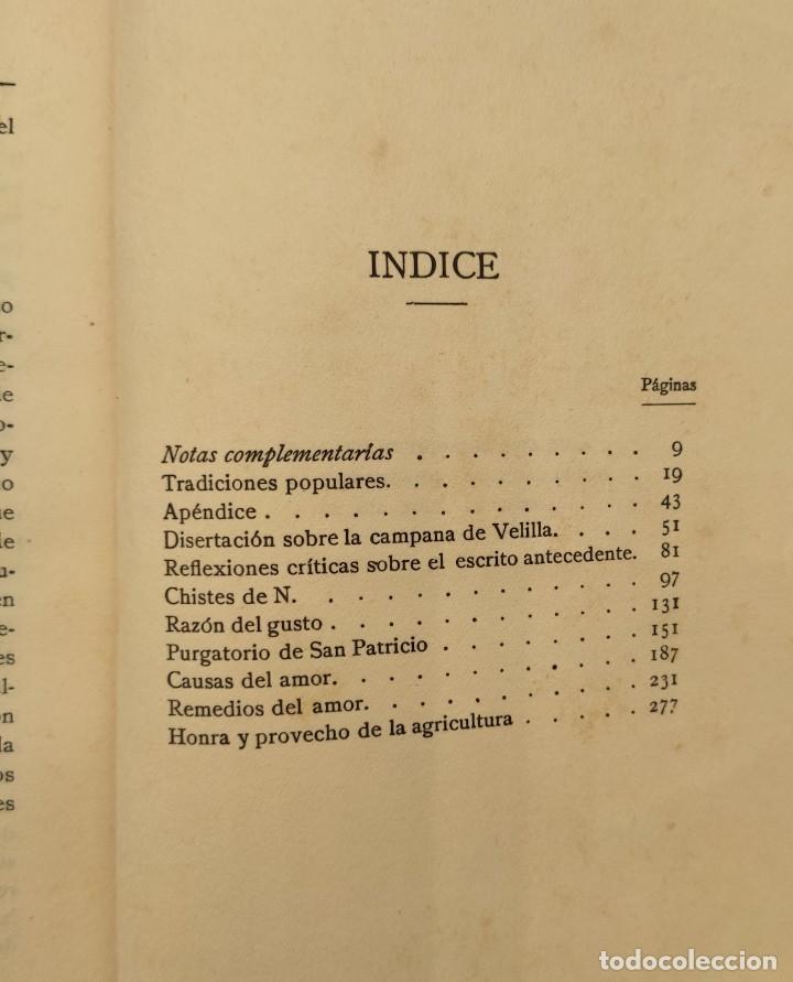"""Libros antiguos: """"Teatro crítico Universal. Clásicos castellenos"""". Ediciones de la lectura. Madrid. De 1925 a 1928. - Foto 7 - 277460118"""