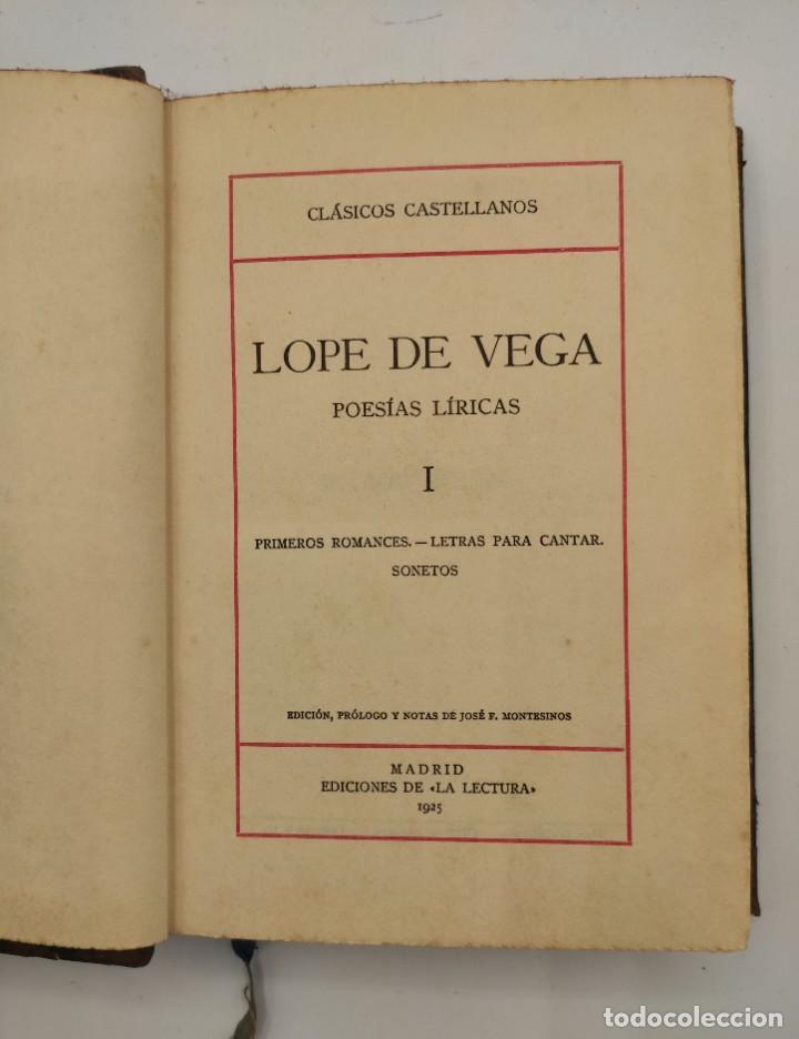 """Libros antiguos: """"Teatro crítico Universal. Clásicos castellenos"""". Ediciones de la lectura. Madrid. De 1925 a 1928. - Foto 11 - 277460118"""