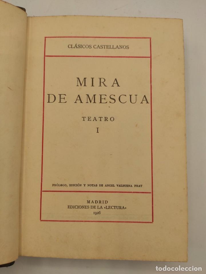 """Libros antiguos: """"Teatro crítico Universal. Clásicos castellenos"""". Ediciones de la lectura. Madrid. De 1925 a 1928. - Foto 18 - 277460118"""