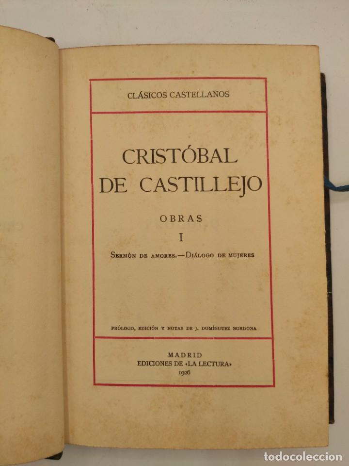 """Libros antiguos: """"Teatro crítico Universal. Clásicos castellenos"""". Ediciones de la lectura. Madrid. De 1925 a 1928. - Foto 33 - 277460118"""