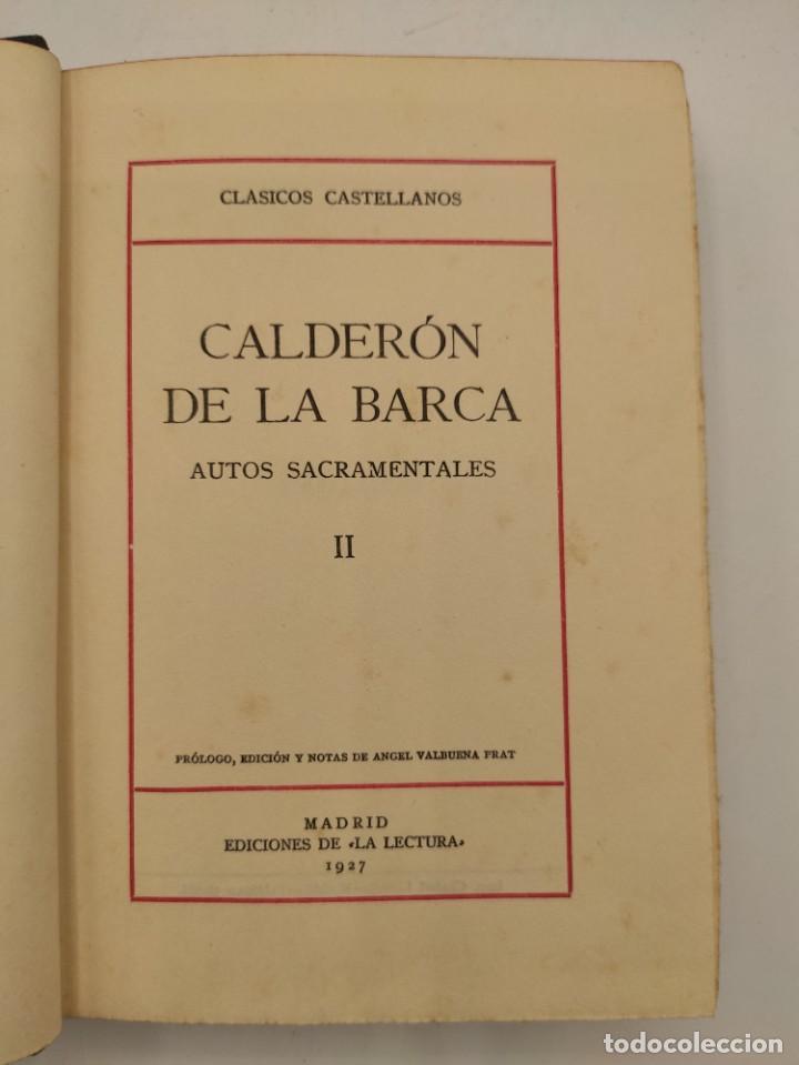 """Libros antiguos: """"Teatro crítico Universal. Clásicos castellenos"""". Ediciones de la lectura. Madrid. De 1925 a 1928. - Foto 46 - 277460118"""