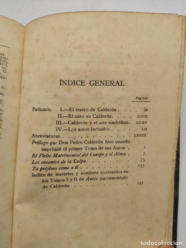 """Libros antiguos: """"Teatro crítico Universal. Clásicos castellenos"""". Ediciones de la lectura. Madrid. De 1925 a 1928. - Foto 48 - 277460118"""