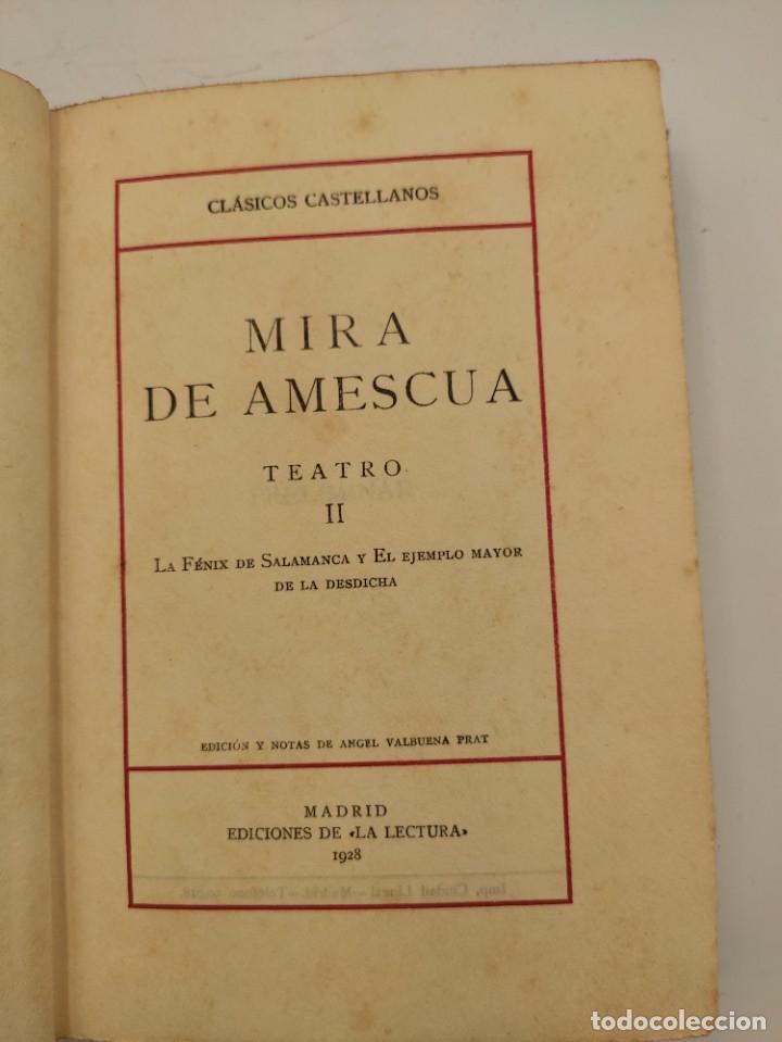 """Libros antiguos: """"Teatro crítico Universal. Clásicos castellenos"""". Ediciones de la lectura. Madrid. De 1925 a 1928. - Foto 92 - 277460118"""