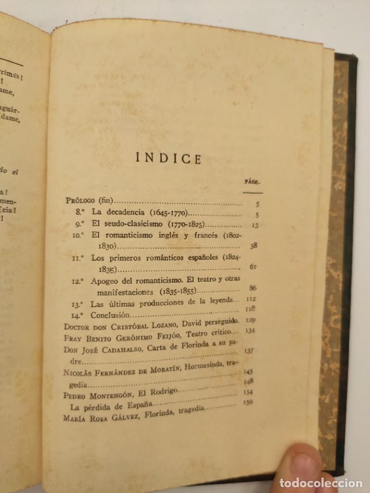 """Libros antiguos: """"Teatro crítico Universal. Clásicos castellenos"""". Ediciones de la lectura. Madrid. De 1925 a 1928. - Foto 108 - 277460118"""