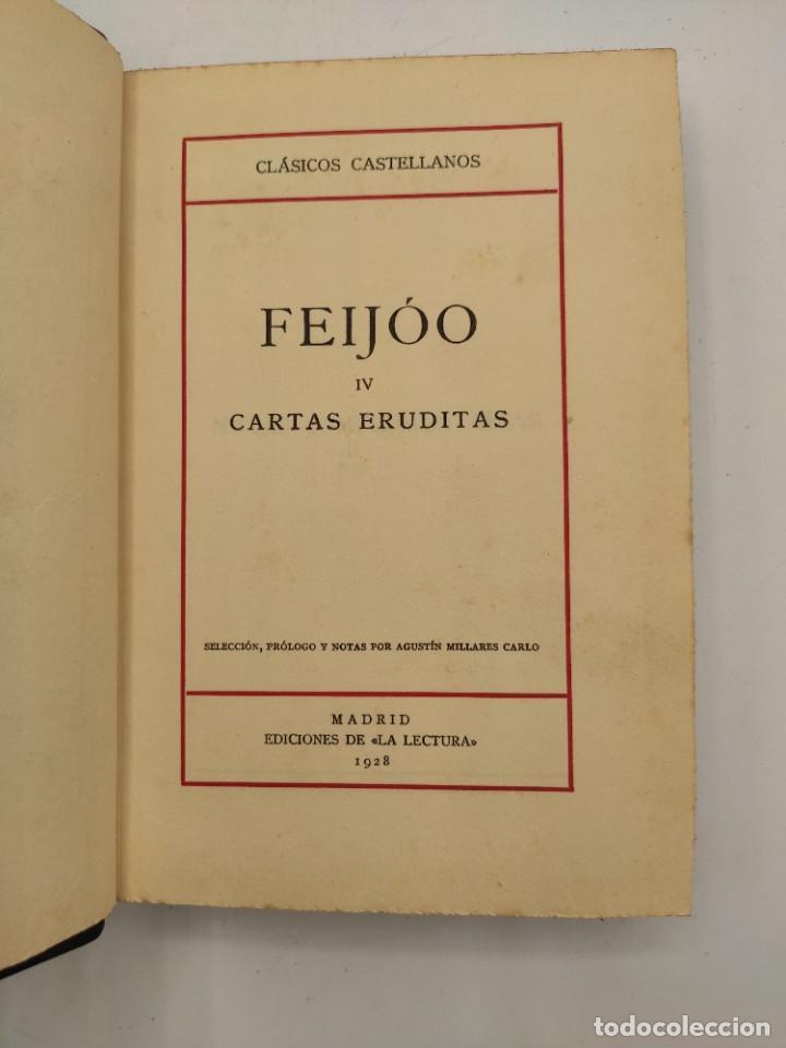 """Libros antiguos: """"Teatro crítico Universal. Clásicos castellenos"""". Ediciones de la lectura. Madrid. De 1925 a 1928. - Foto 113 - 277460118"""