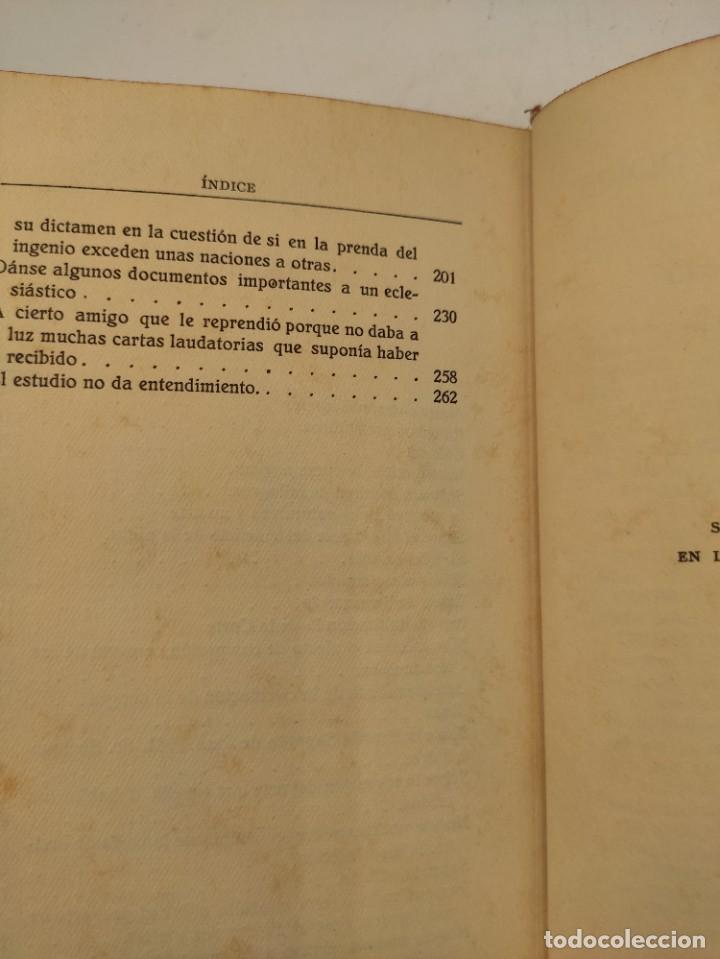 """Libros antiguos: """"Teatro crítico Universal. Clásicos castellenos"""". Ediciones de la lectura. Madrid. De 1925 a 1928. - Foto 116 - 277460118"""
