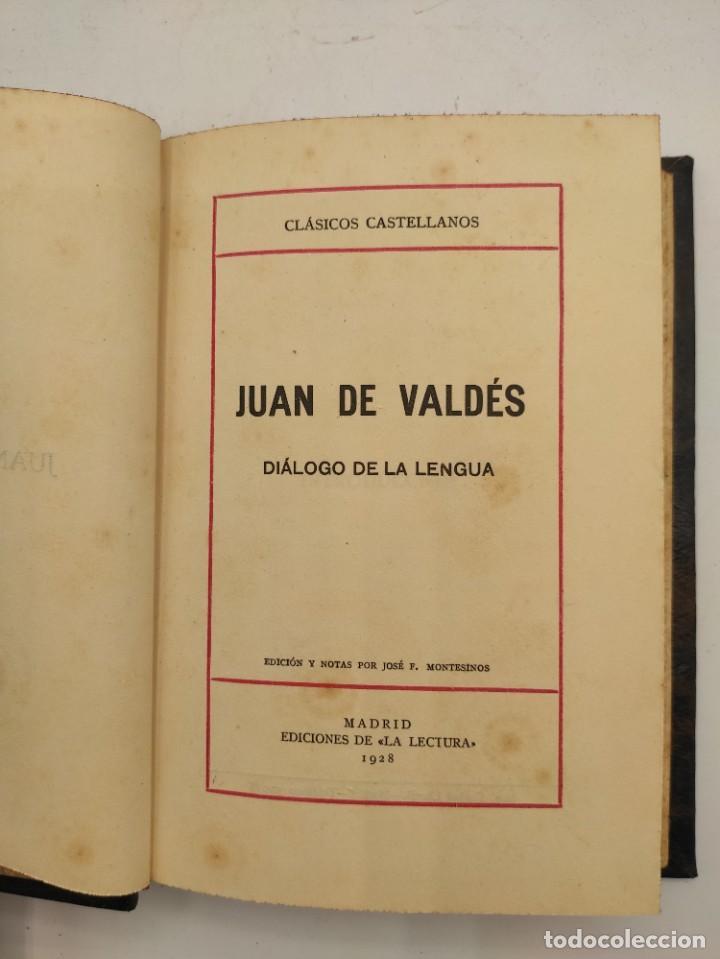 """Libros antiguos: """"Teatro crítico Universal. Clásicos castellenos"""". Ediciones de la lectura. Madrid. De 1925 a 1928. - Foto 120 - 277460118"""