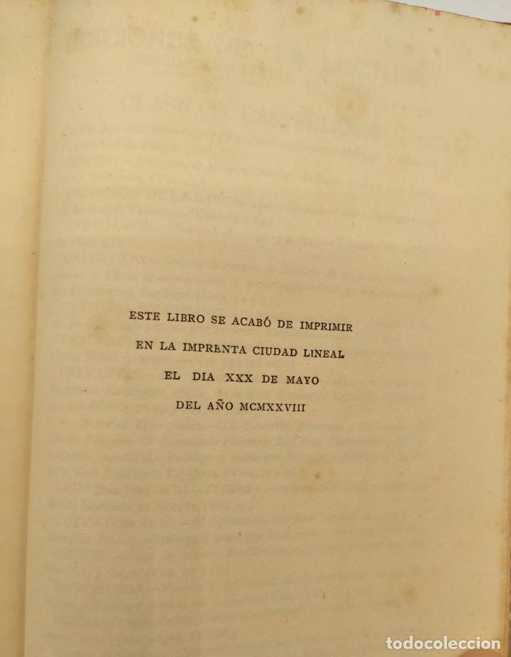 """Libros antiguos: """"Teatro crítico Universal. Clásicos castellenos"""". Ediciones de la lectura. Madrid. De 1925 a 1928. - Foto 123 - 277460118"""