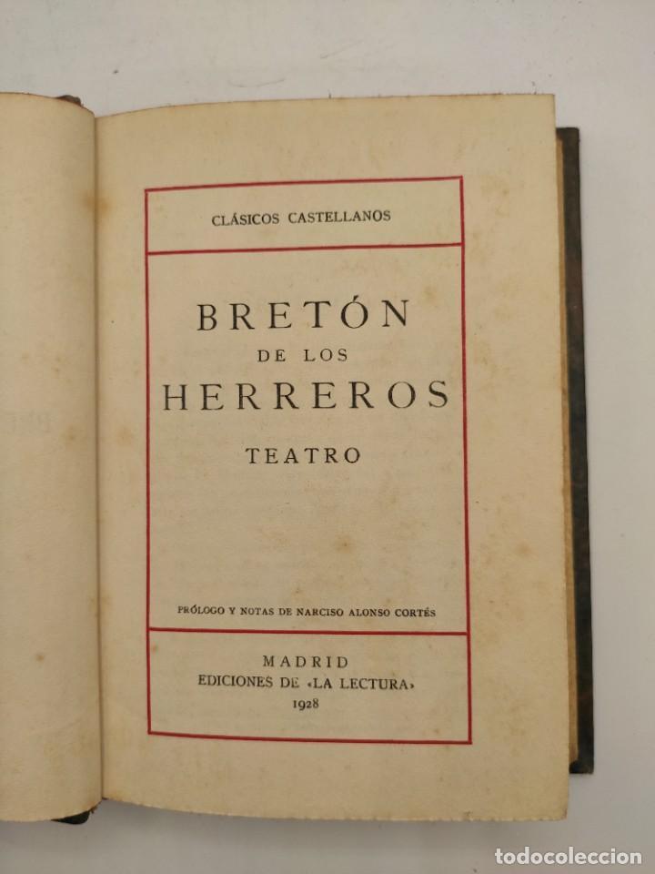 """Libros antiguos: """"Teatro crítico Universal. Clásicos castellenos"""". Ediciones de la lectura. Madrid. De 1925 a 1928. - Foto 132 - 277460118"""