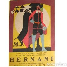 Libros antiguos: VICTOR HUGO: HERNANI. Lote 277582918